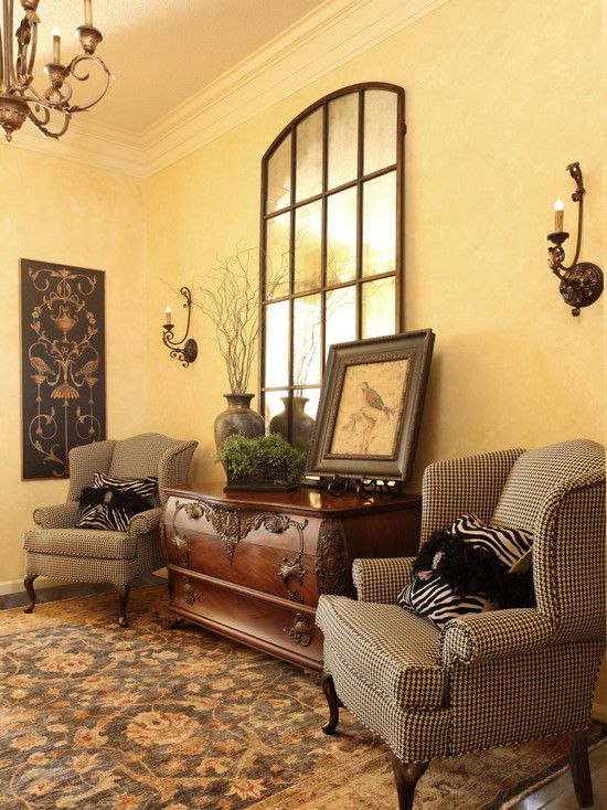 Traditional Entry Tuscan Style Design, Pictures, Remodel, Decor and