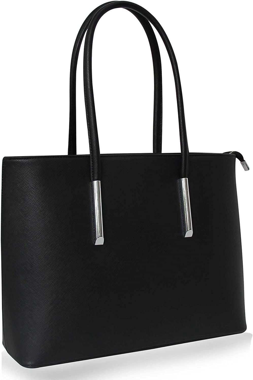 Vanessa Melissa Damen Handtasche Schwarz Shopper Schulter Tasche Mit Großer Kapazität Farbe Schwarz Handtasche Schwarz Damen Handtasche Schwarz Taschen