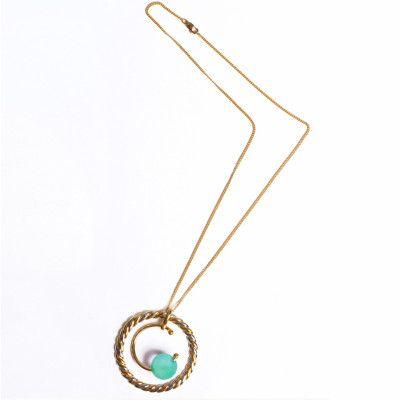 Carla Knot Necklace- shop now at www.hautegali.com