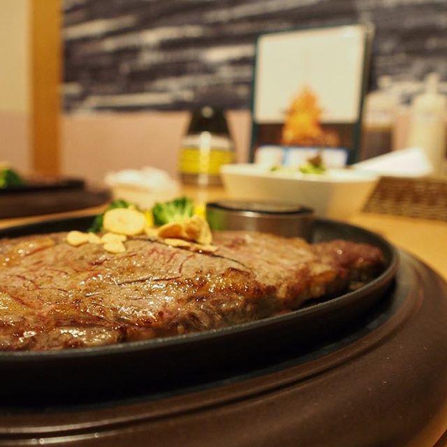 ステーキ😆 #函館 #情熱ステーキ #美味しい #ステーキ #肉 #hakodate #steak #delicious #beef #instafood