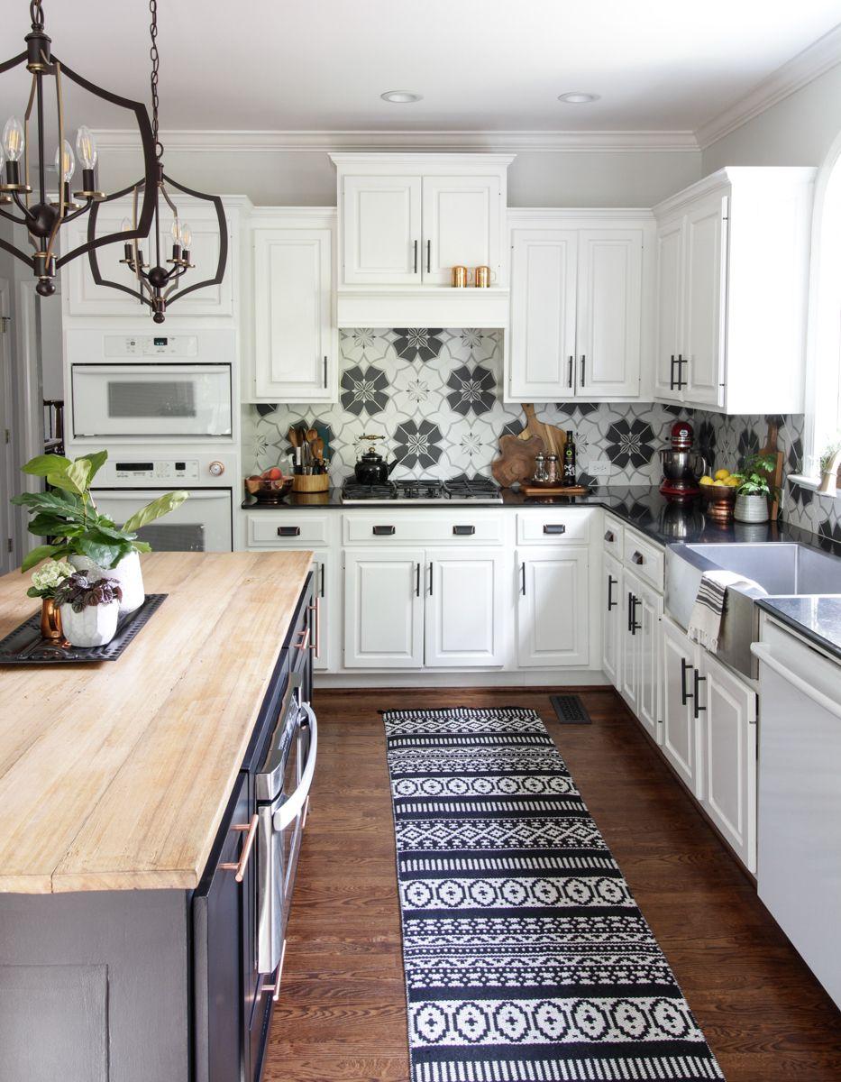 Simple kitchen refresh u summer vignettes for the kitchen
