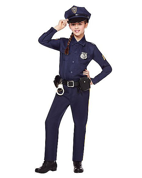 Kids Police Costume Deluxe Spirithalloween Com Police Costume Kids Cop Costume For Kids Police Costume