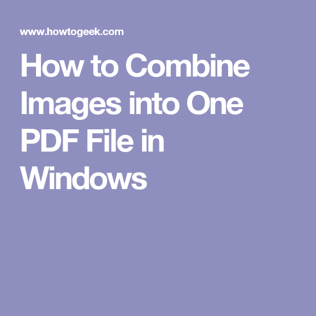 can i combine pdf files into one document