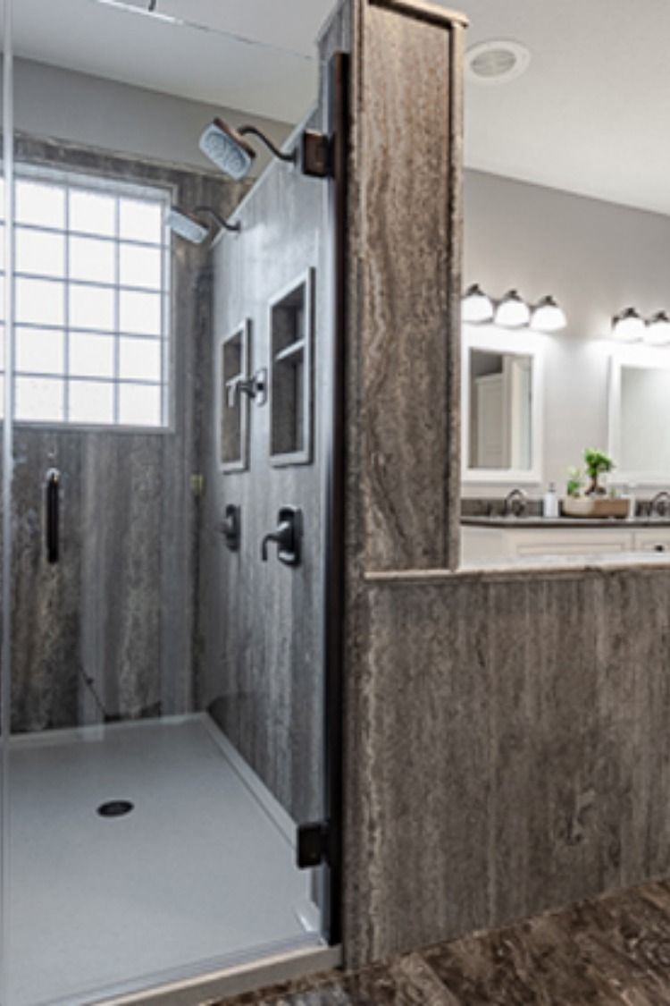 durabath natural stone bathroom done in gretna nebraska offers rh pinterest com