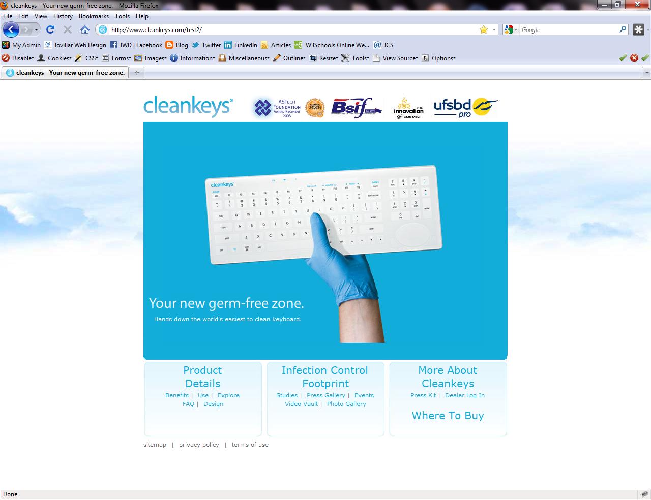 Custom Template For Cleankeys Inc In Edmonton Ab Web Design Website Development Company Graphic Design Services