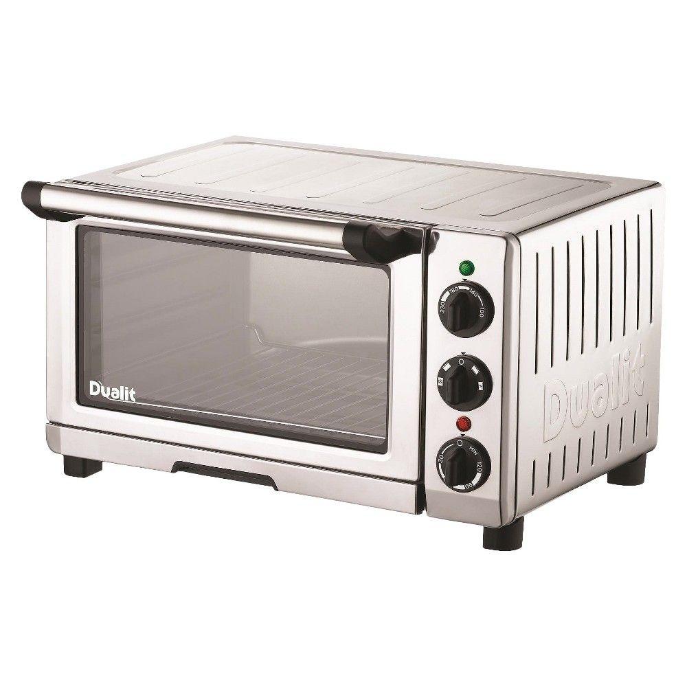 Dualit Chrome Grey Stainless Steel Mini Oven 16 5x14x9