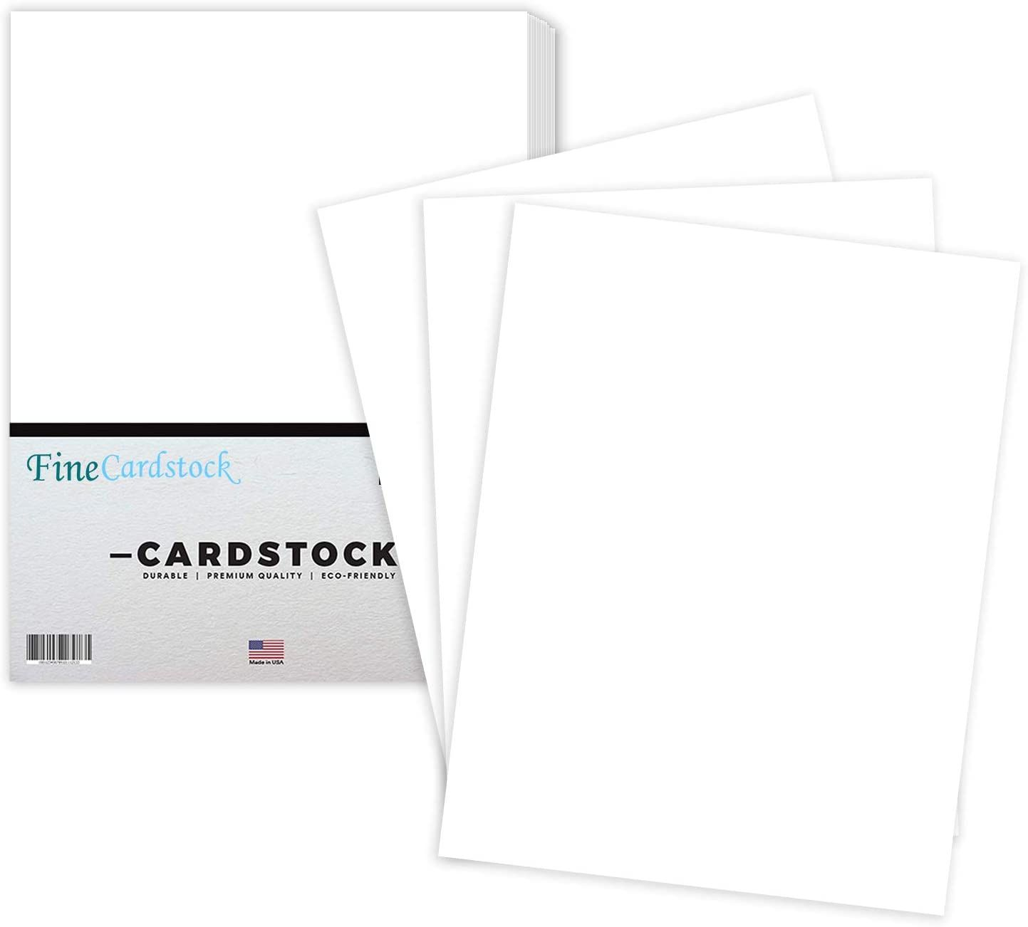 White Cardstock Thick Paper For School Arts And Crafts Invitations Stationary Printing 65 Card Stock Cover Stock Arts And Crafts