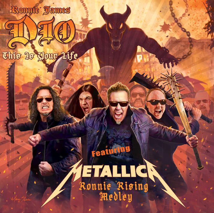 Hear Metallica's tribute to Ronnie James Dio