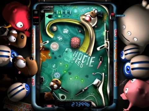 Monster Pinball HD è uno dei numerosi flipper disponibili in App Store per iPhone, iPod touch ed iPad che si caratterizzano per grafica e audio molto curati.