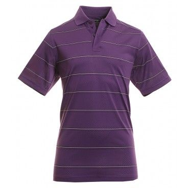 Special Offers Available Click Image Above: Callaway Golf Chev Mesh Stripe Polo Shirt Besk0041 - Petunia 509
