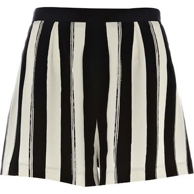 Rihanna x River Island Striped Shorts