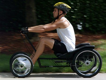 Champiot Ultra It Is Described As The Greatest Rowing Machine On Wheels Link Bicycle Powered Bicycle Rowing
