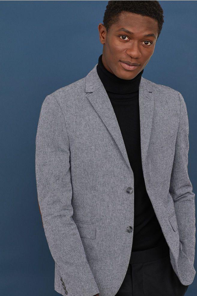 Slim Fit Cotton Blazer Cotton blazer, Blazer, Online