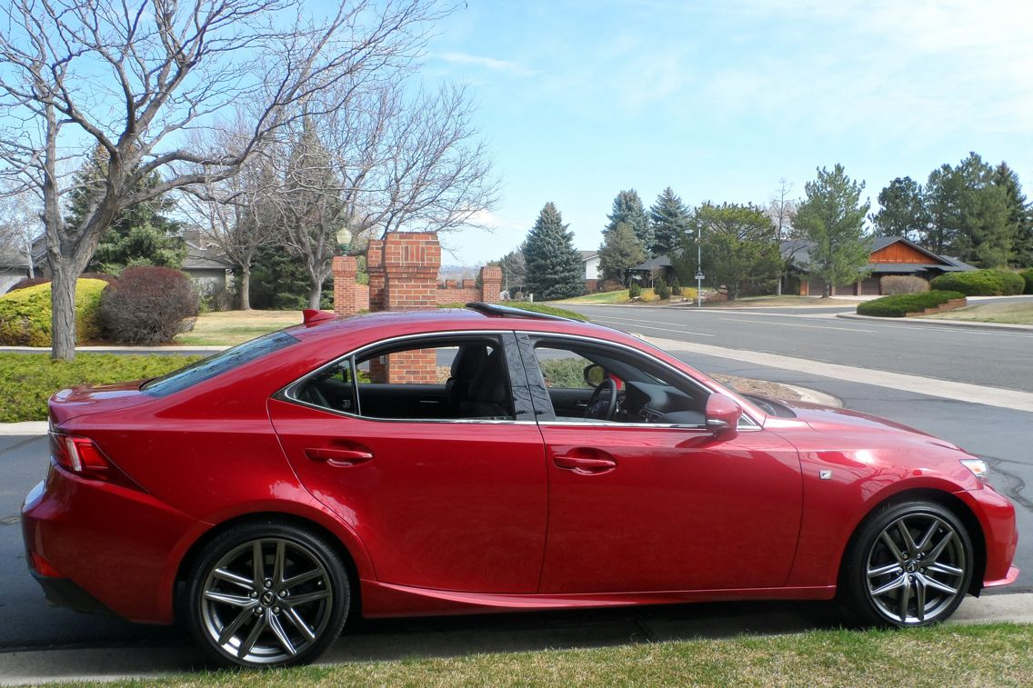 2015 Red Lexus IS 350 F Sport Lexus, New cars, Trd