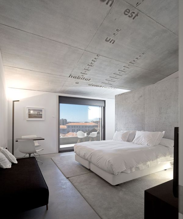 Casa do conto pedra l quida bedroom decoraci n de for Idee casa minimalista