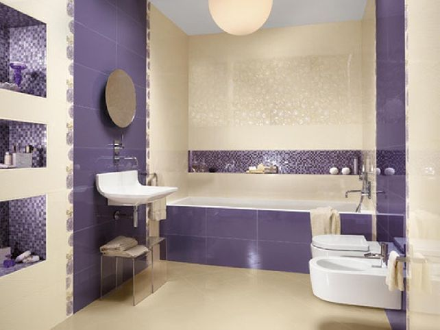 Awesome Looking For A New Color For Your Bathroom? Here Are 20 Of The Most  Fascinating Purple Bathroom Designs.