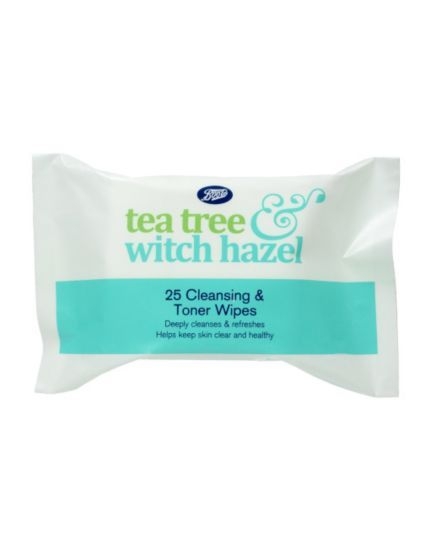 Boots Tea Tree And Witch Hazel Cleansing Wipes 25s Boots Really