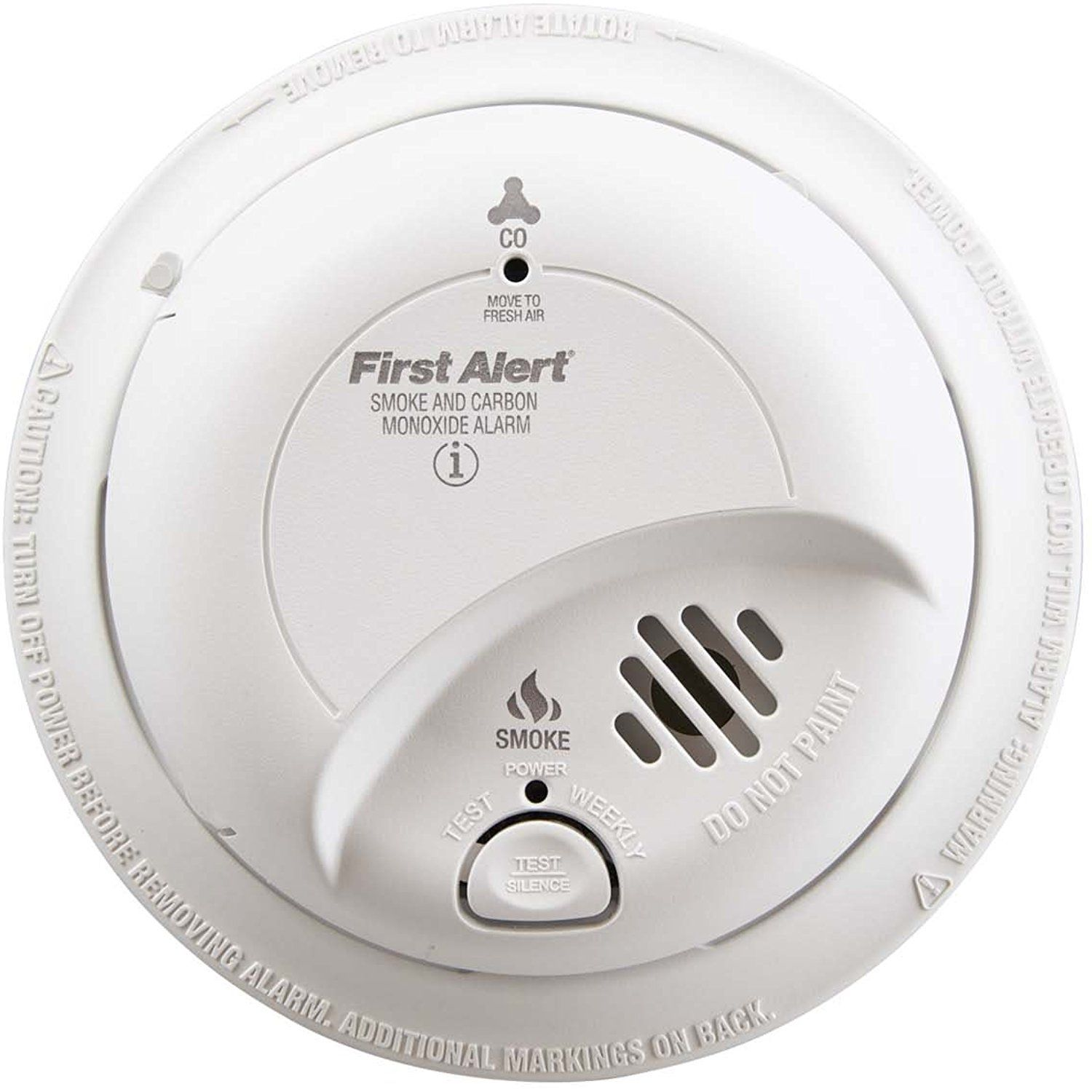 First Alert Brk Sc 9120b Hardwired Smoke And Carbon Monoxide Alarm With Battery Backup Visit The Battery Backup Carbon Monoxide Detector Smoke Alarms