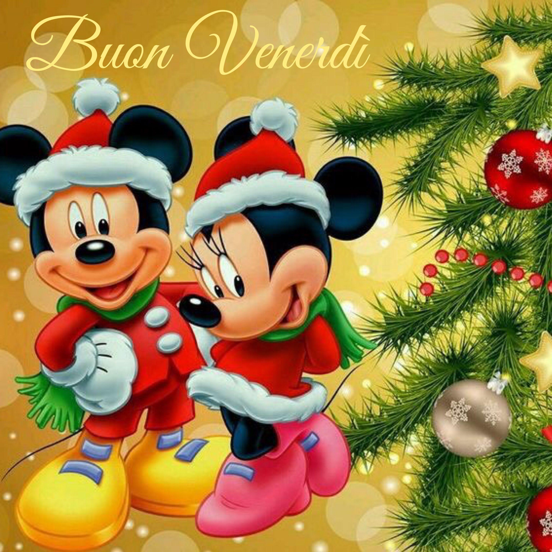 Immagini Buon Natale Disney.Venerdi Natale Topolino Mickey Disney