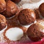 Triple-Chocolate Cake Balls