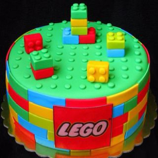 I'm going to make this cake for my oldest daughter Alana. She's obsessed with Legos.