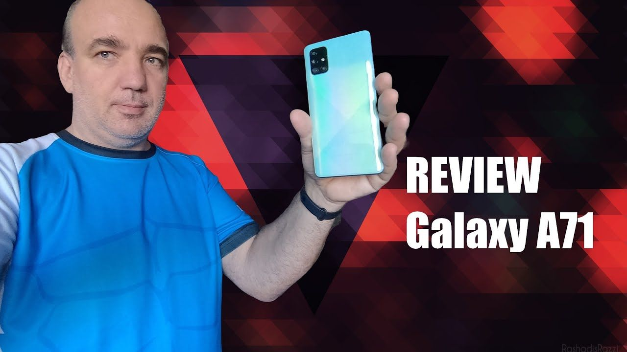 Samsung Galaxy A71 review: foarte bun, îl recomand