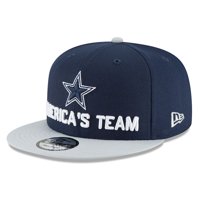 5d238d1de0550 ... where to buy dallas cowboys new era youth 2018 nfl draft spotlight 9fifty  snapback adjustable hat