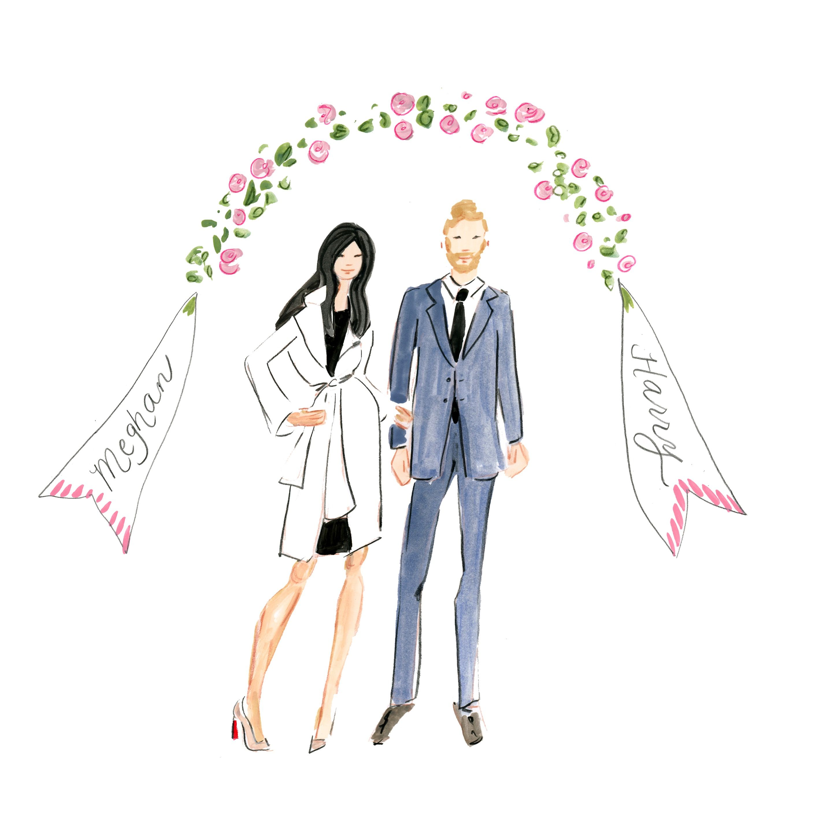 Love My Royals Meghan Markle And Prince Harry Royal Weddings Are The Best Bbriggsillustrat Prince Harry And Megan Prince Harry And Meghan Prince Harry