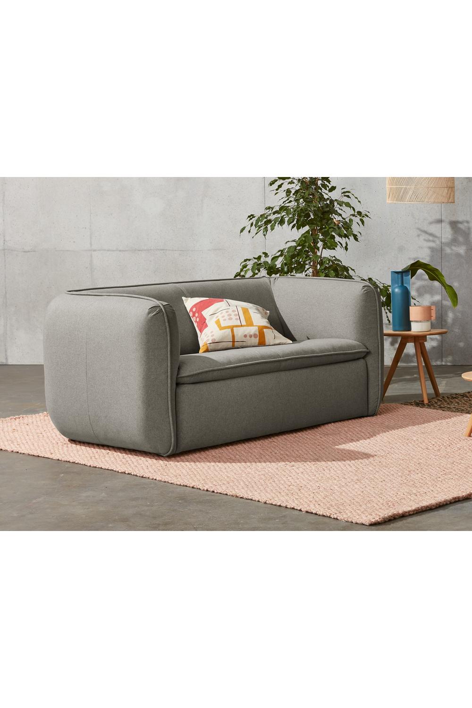 Berko 2 Sitzer Sofa Manhattan Grau Sofa 2 Seater Sofa Gray Sofa