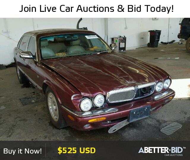 Clean Title 1998 Jaguar Xj Sedan 4d 4 0l 8 For Sale In Portland Or 19353376 A Better Bid Luxury Cars For Sale Car Auctions Bid