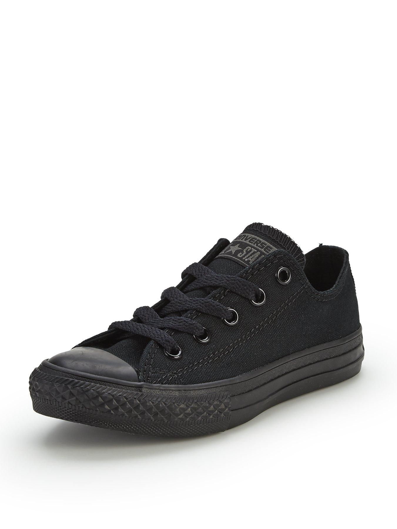 Converse chuck taylor all star ox trainers in core black