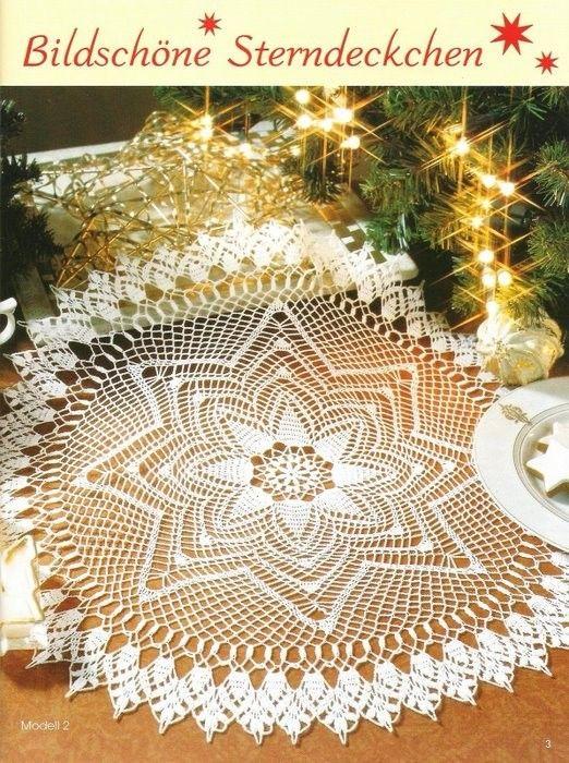 Pin von Dawn Speaks auf Crochet Doilies | Pinterest | Deckchen ...