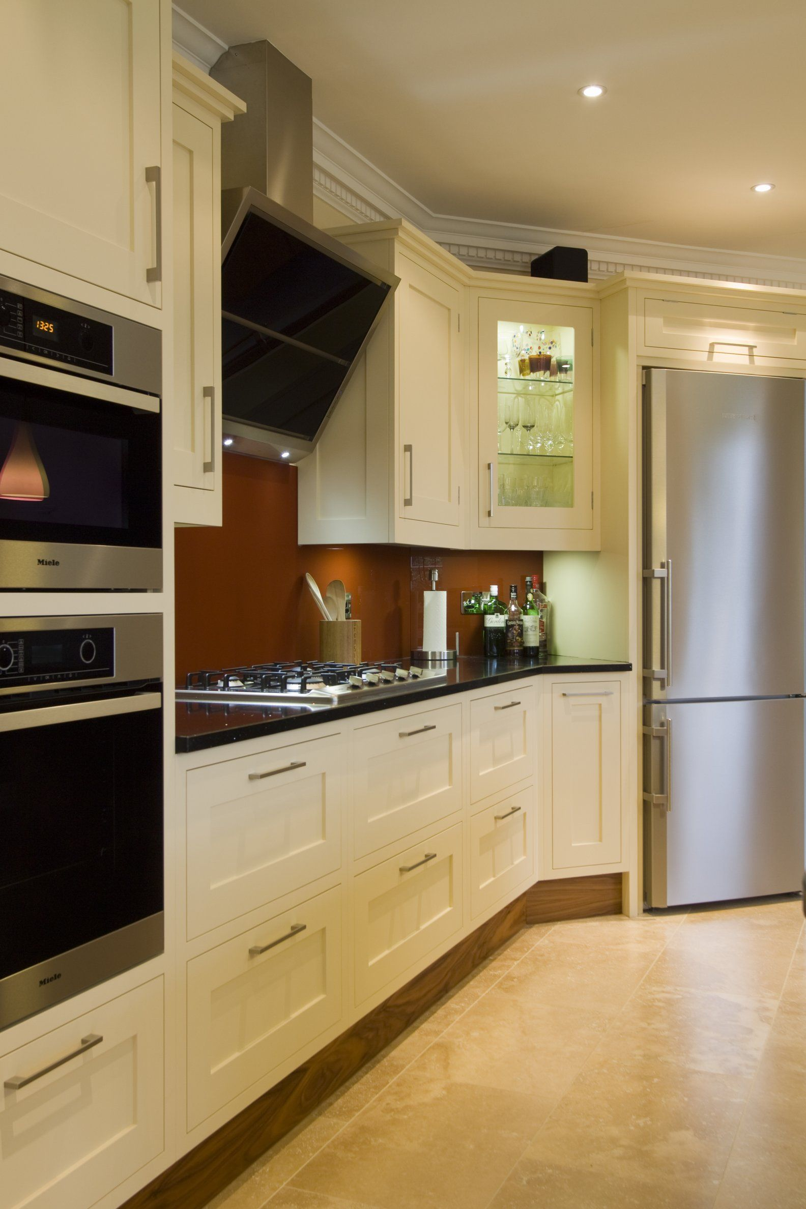 Angled Extractor Fan Height Google Search Kitchen Fridges Fridge Storage Extractor Fans