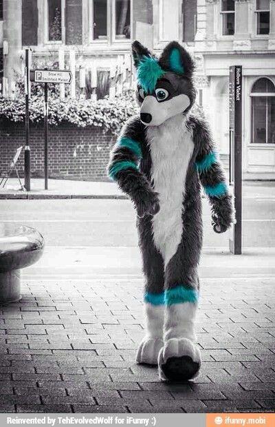 Cosmic Wolf Fursuit