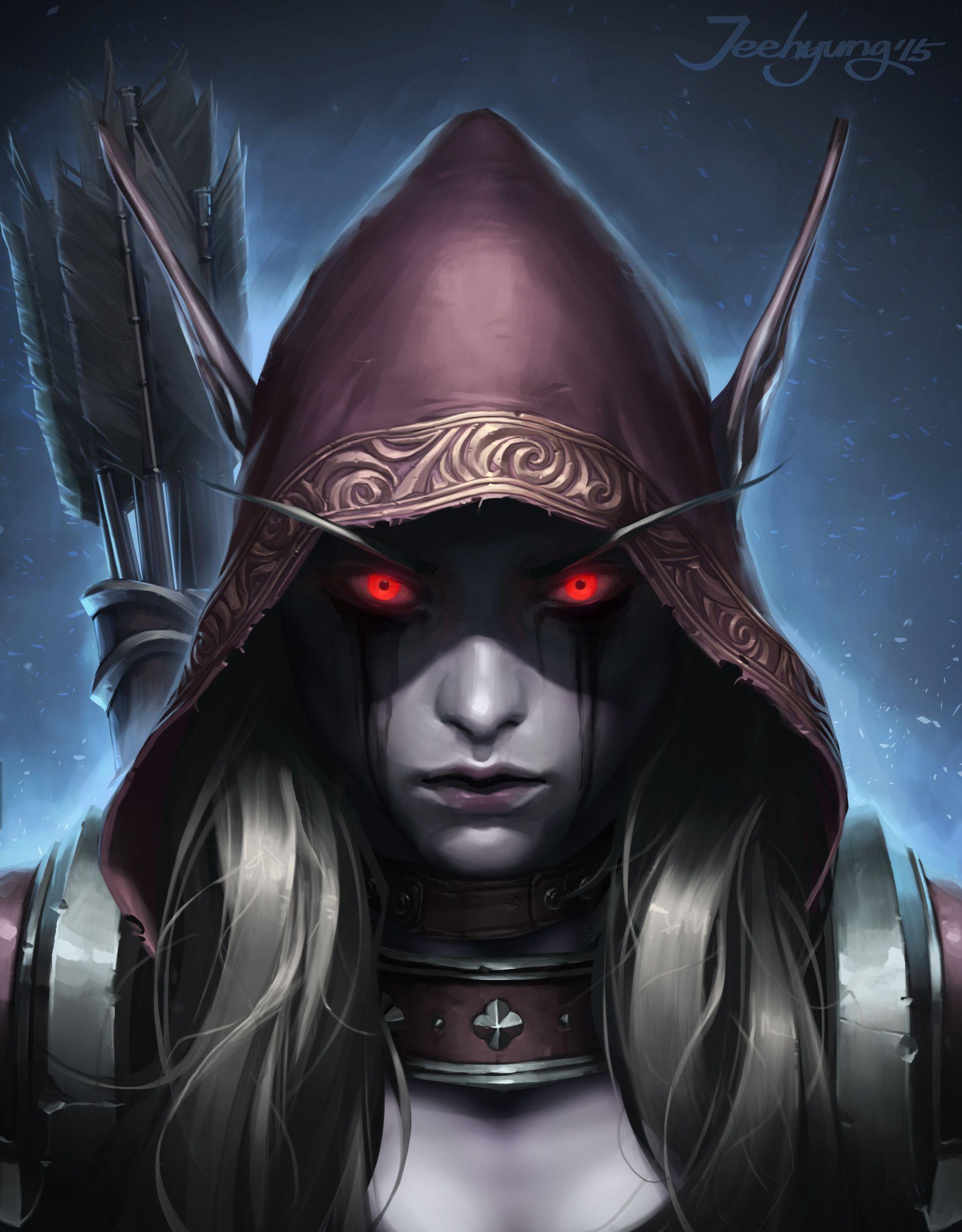 Artstation Jeehyung Jeehyung Lee Sylvanas Windrunner Warcraft Art World Of Warcraft