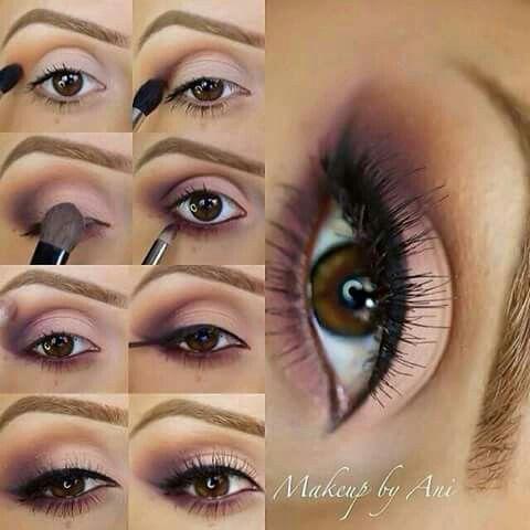Palo De Rosa Maquillaje Tonos Rosas Maquillaje De Ojos