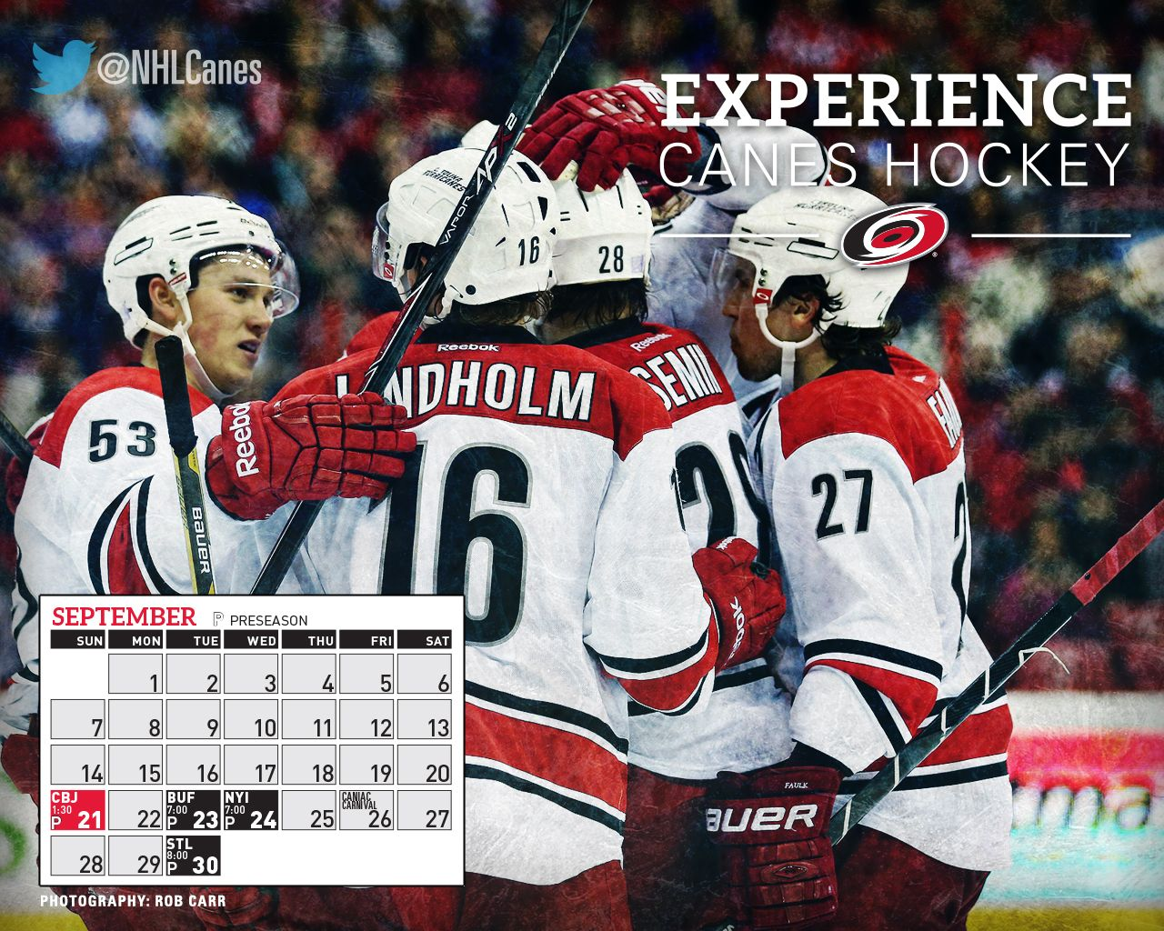 New #Canes September wallpaper. Less than 3 weeks until our first preseason game!