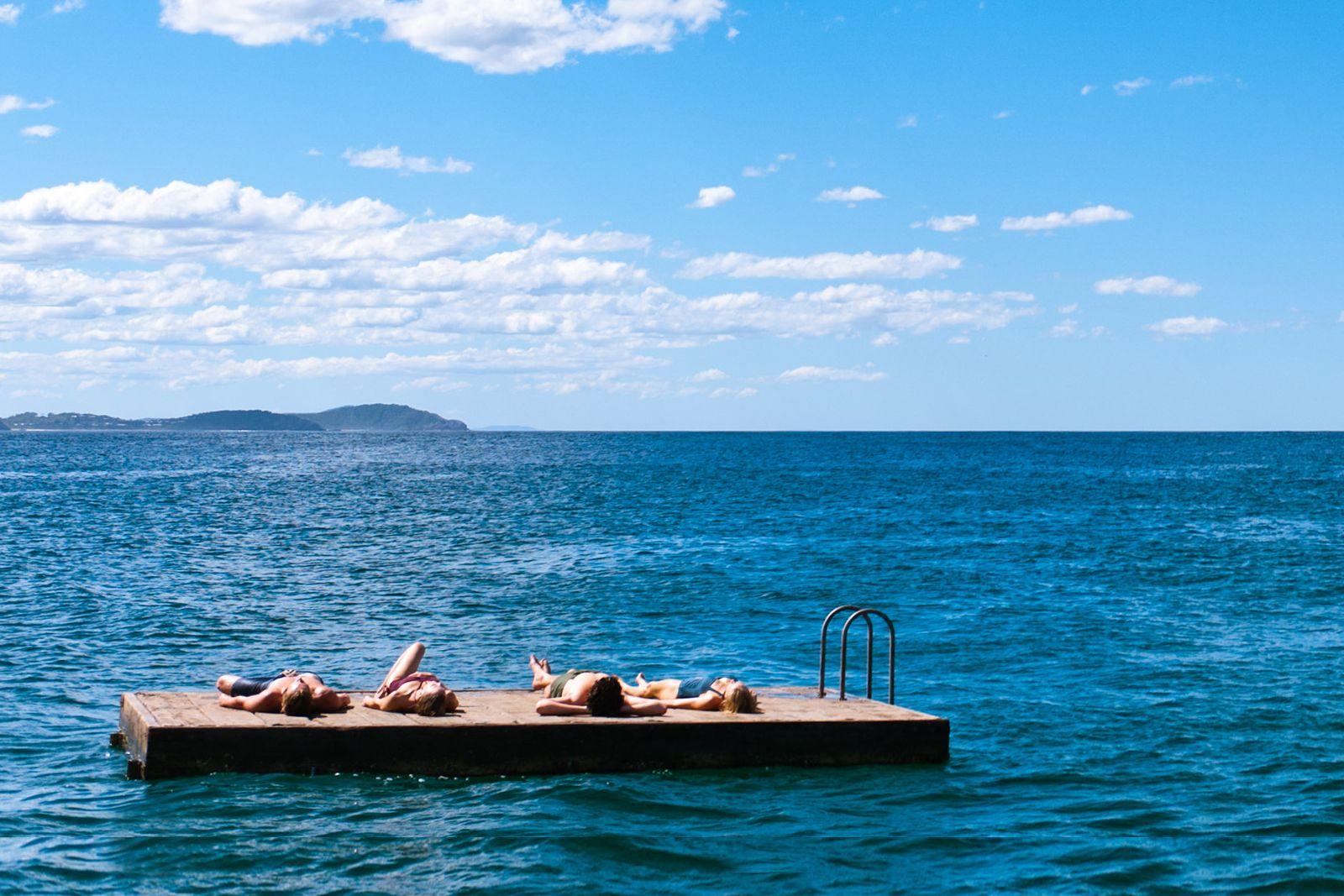 Seal Rocks Australia A Place To Take A Swim In The Ocean