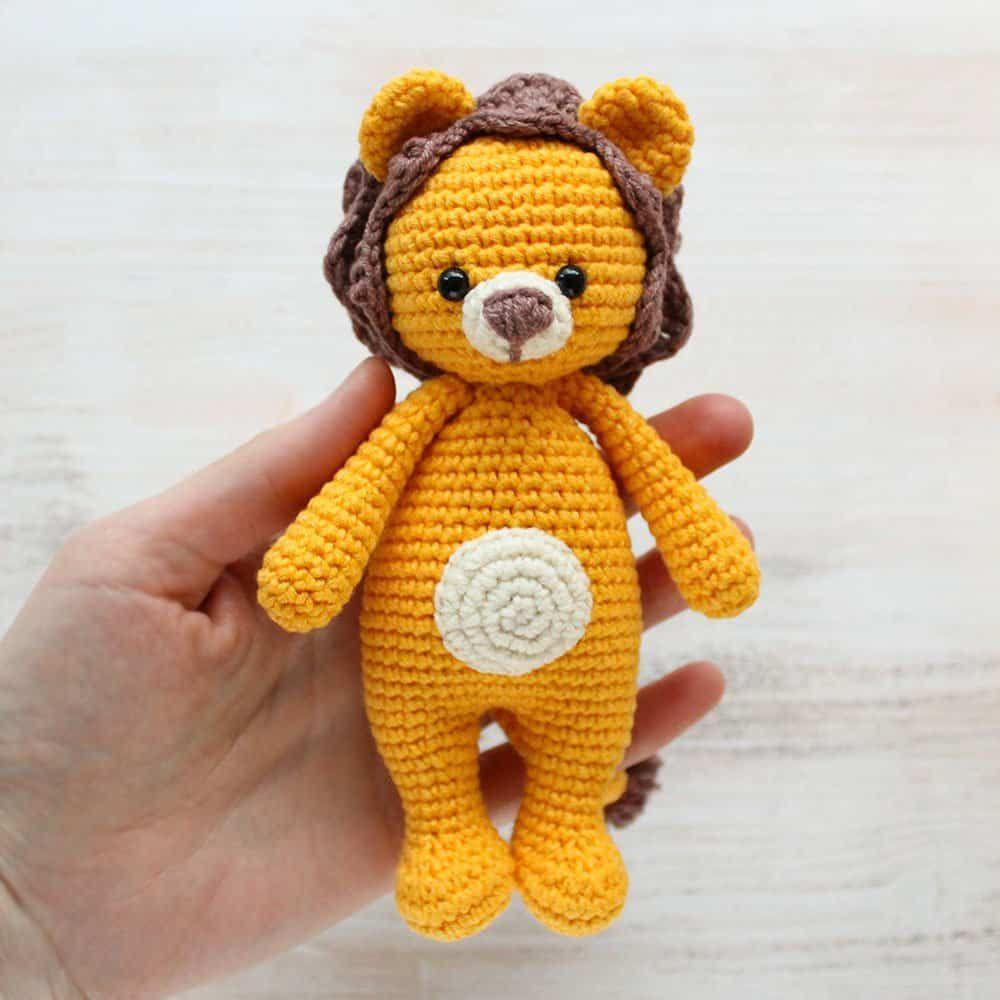 Amigurumi Cuddle Me Lion - Patrón de ganchillo gratis   crochet ...