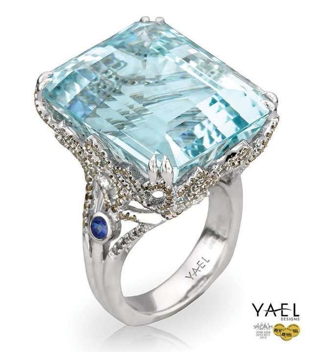 What do you think of this 50 carat Aquamarine ring?                                                                                                                                                      More