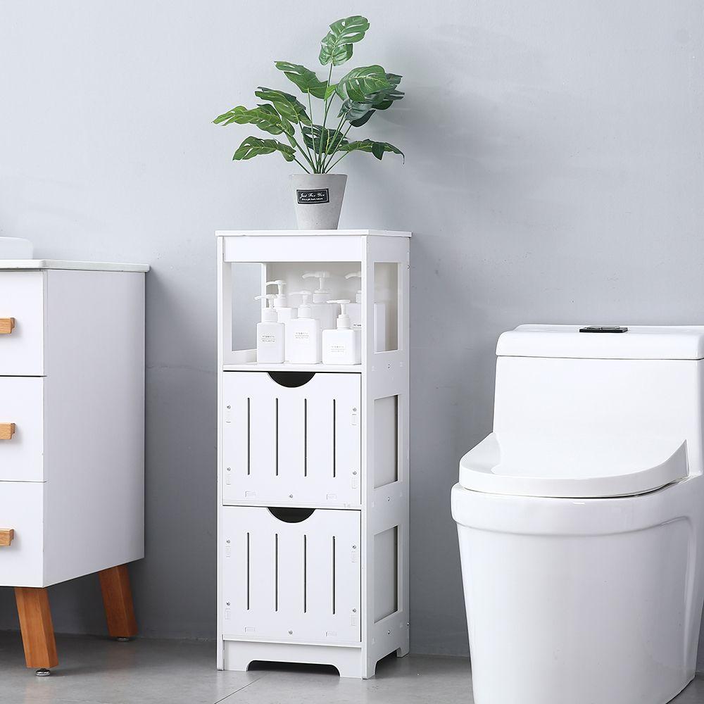 Storage Cabinet Bathroom Floor Cabinet Side Storage Organizer Unit Bathroom Floor Cabinets Modern Bathroom Cabinets Bathroom Flooring [ jpg ]