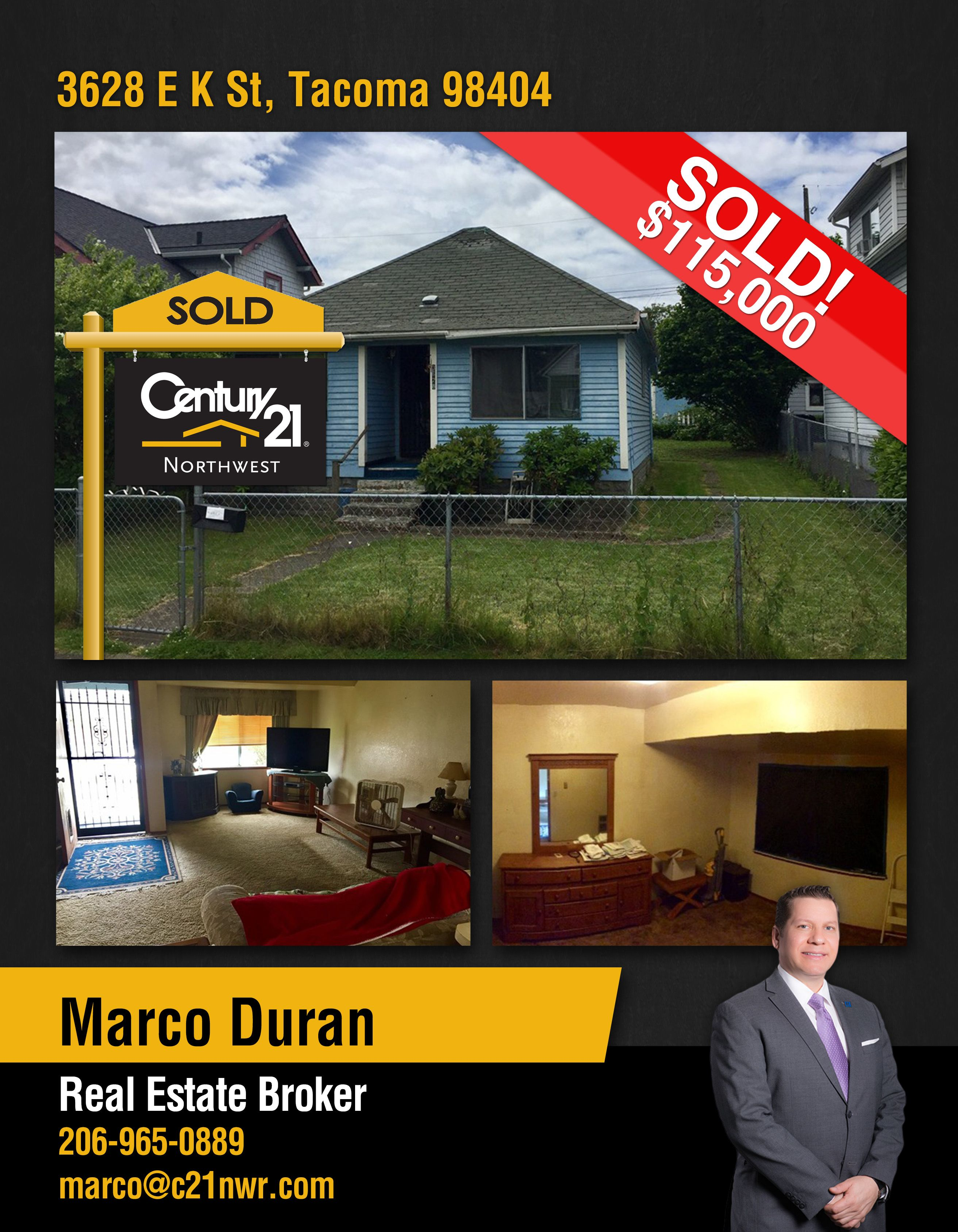 SOLD Congrats Marco Duran and to the new owners of Wonderful Home in ...