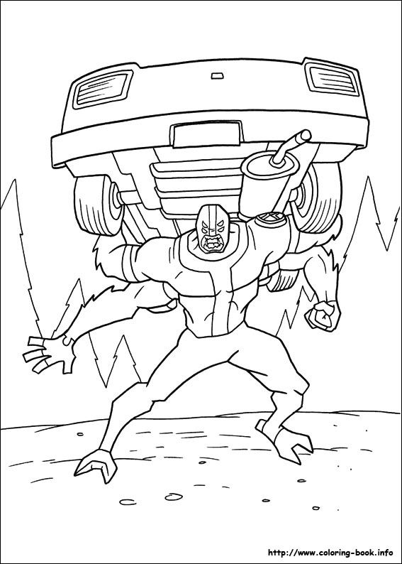 Ben10 16 pobarvanke coloring pages for boys pinterest ben 10 coloring pages for kids 16 voltagebd Image collections