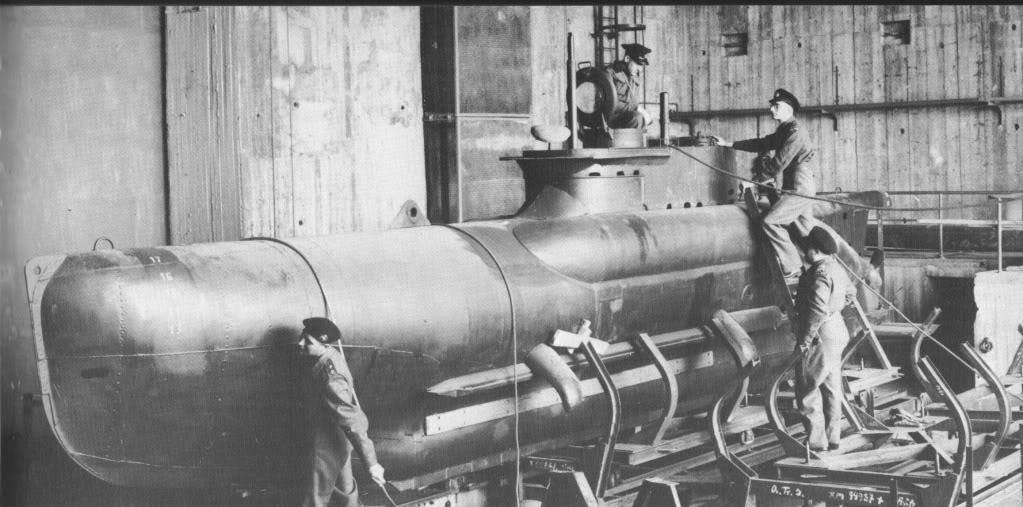Seehund midget submarine something is