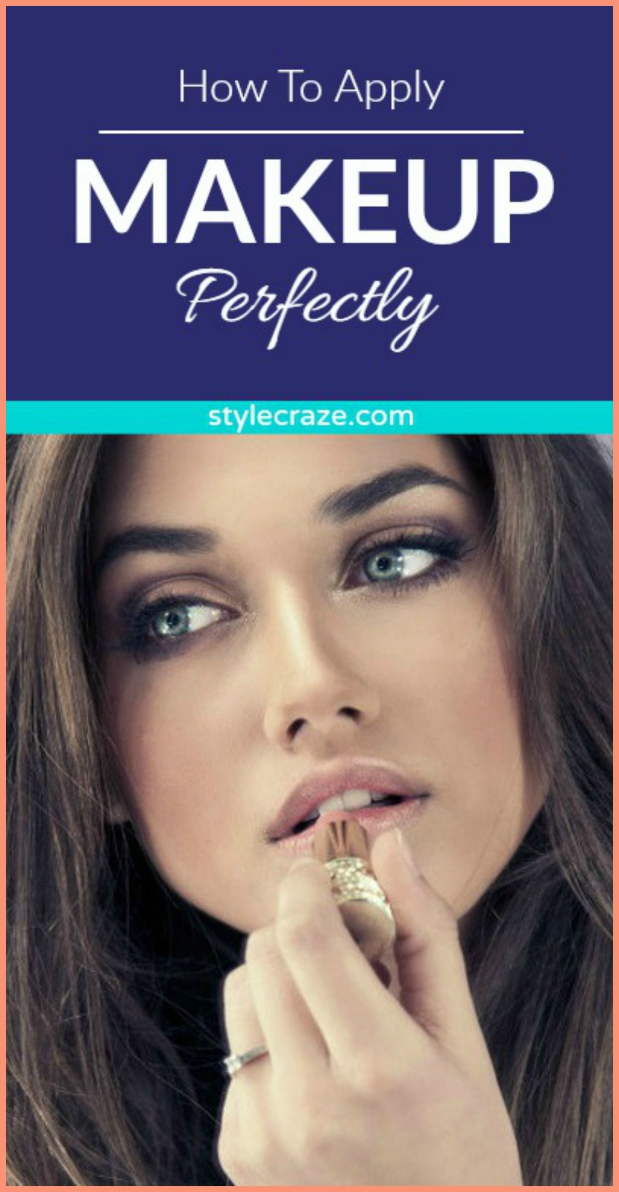 How To Apply Makeup Like A Pro How to apply makeup