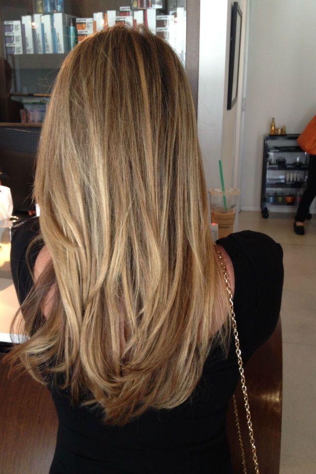 36 Blonde Balayage With Caramel Honey Copper Highlights Blonde Balayage Hair Highlights Hair Lengths