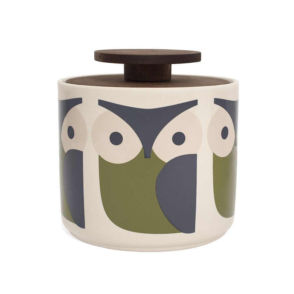 Discover the Orla Kiely Storage Jar - 1L - Owl at Amara | Torrey ...