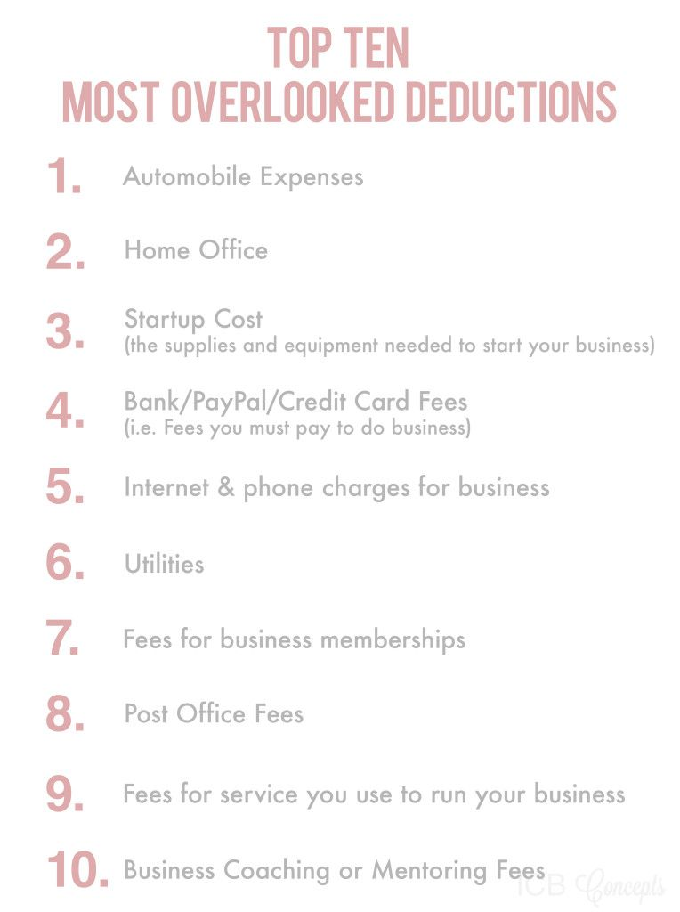 8 Business Expenses You Can't Write Off