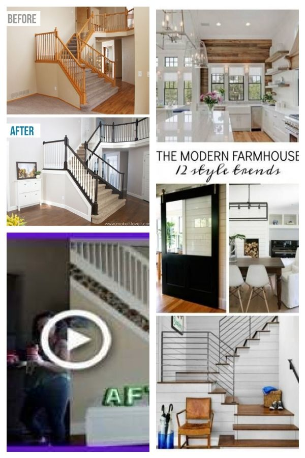 Best How To Paint Stain Wood Stair Railings Oak Banisters 640 x 480