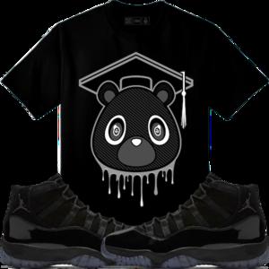 07f8d41feba5c1 Original Rufnek T-Shirt Jordan 11 Cap Gown Sneaker Tees Shirt - GRAD BEAR